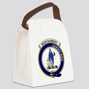 Montgomery Clan Badge Canvas Lunch Bag