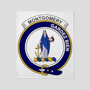 Montgomery Clan Badge Throw Blanket