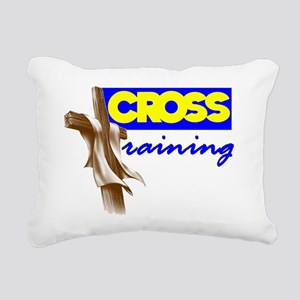 Cross Training 2 Rectangular Canvas Pillow