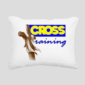 Cross Training 2 Rectangular Canvas Pillow