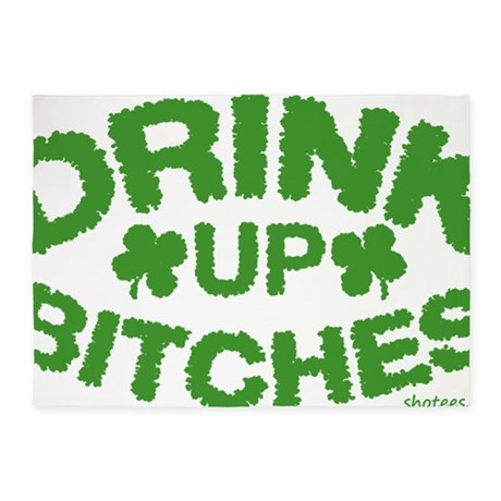 drink up 5'x7'Area Rug
