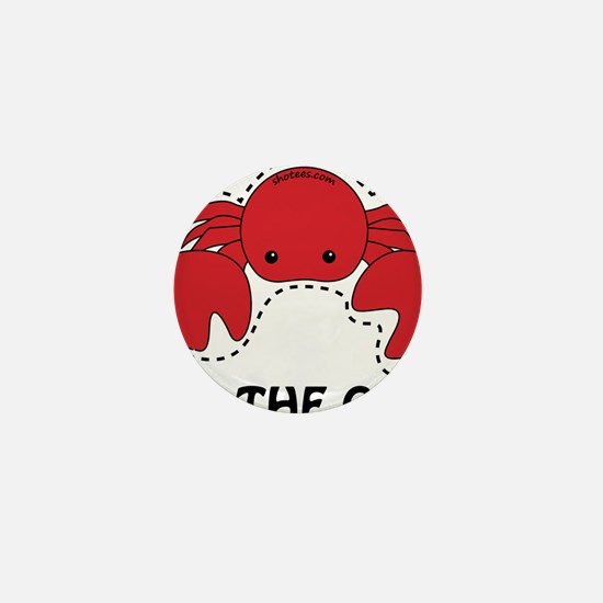 cut the crab Mini Button