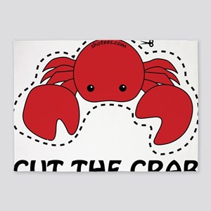 cut the crab 5'x7'Area Rug