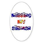 Missing my Airman Oval Sticker