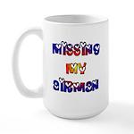 Missing my Airman Large Mug