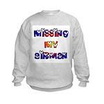 Missing my Airman Kids Sweatshirt