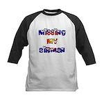 Missing my Airman Kids Baseball Jersey