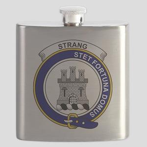 Strang (or Strange) Clan Badge Flask