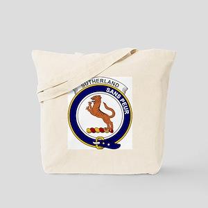 Sutherland I (Earl of) Clan Badge Tote Bag