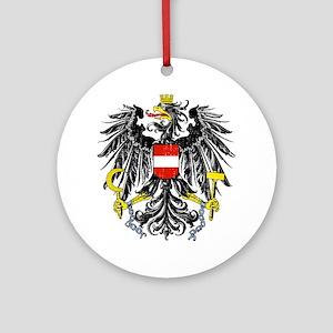 2000px-Austria_Bundesadler Round Ornament