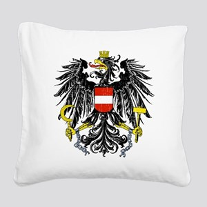 2000px-Austria_Bundesadler Square Canvas Pillow