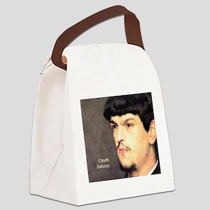 Claude Debussy Canvas Lunch Bag