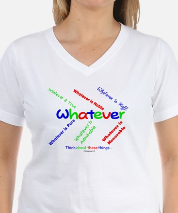 Whatever - Blue, Red, Green Shirt