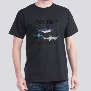 Evolution - black Dark T-Shirt
