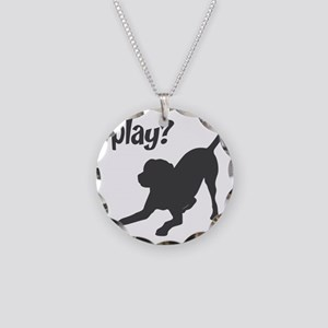 play Necklace Circle Charm
