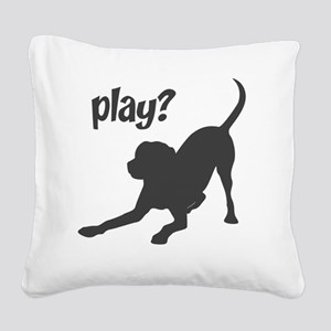 play3 Square Canvas Pillow