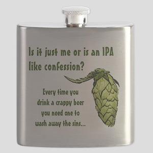 IPA confession finish Flask