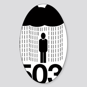503-Portland Sticker (Oval)
