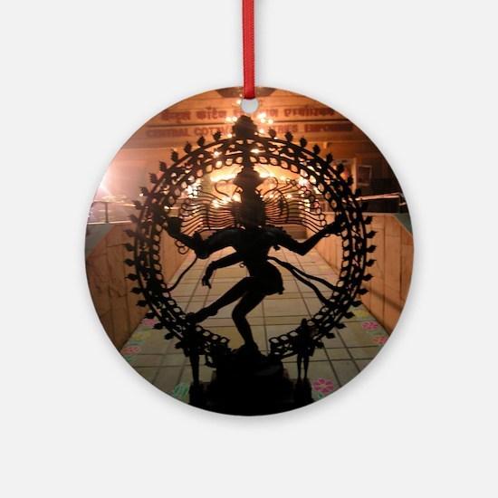 Nataraja Round Ornament
