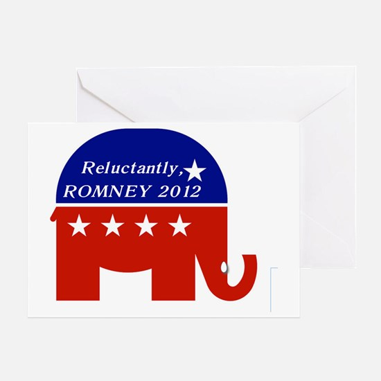Romney 2012.1 Greeting Card