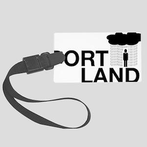Portland Large Luggage Tag