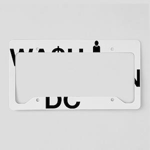 Washington DC License Plate Holder