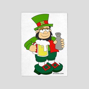 Irish Man 5'x7'Area Rug