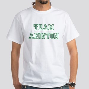 Team ANISTON White T-Shirt