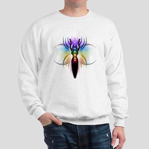 Chakra Goddess - transparent Sweatshirt