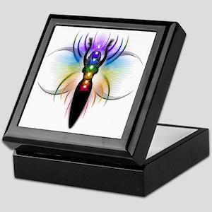 Chakra Goddess - transparent Keepsake Box