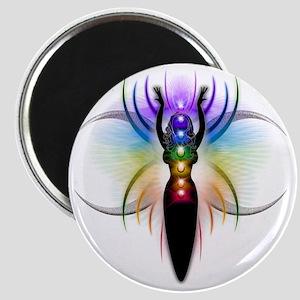 Chakra Goddess - transparent Magnet