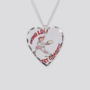 English Rugby - Back Necklace Heart Charm