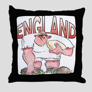 English Rugby - Forward 1 Throw Pillow