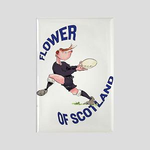 Scottish Rugby - Back Rectangle Magnet