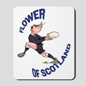 Scottish Rugby - Back Mousepad