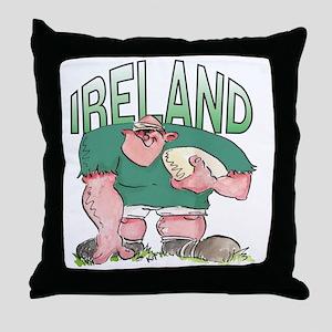 Irish Rugby - Forward 1 Throw Pillow