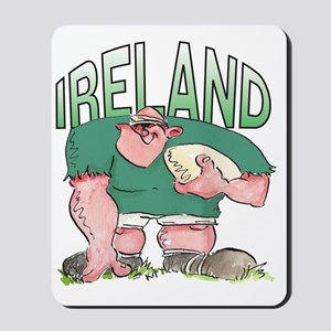 Irish Rugby - Forward 1 Mousepad