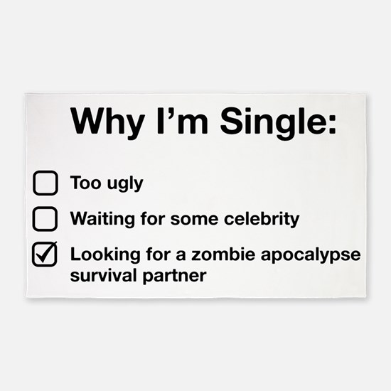 zombie single 3'x5' Area Rug