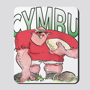 Welsh Rugby - Forward 1 Mousepad