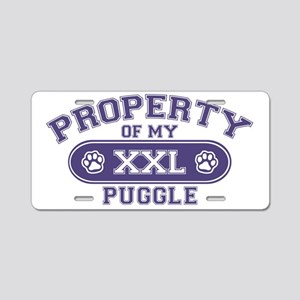 puggleproperty Aluminum License Plate