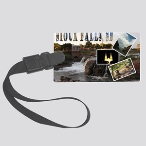 23x35_SiouxFalls1 Large Luggage Tag