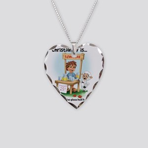 Christianity is... Seeing the Necklace Heart Charm