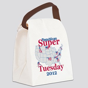 SUPER TUESDAY Canvas Lunch Bag
