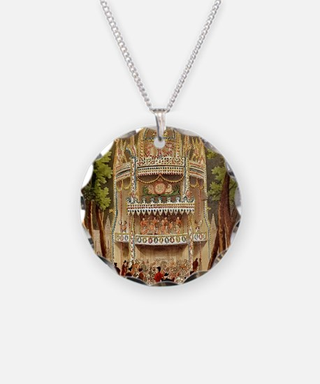 Vauxhall Gardens Tile Necklace