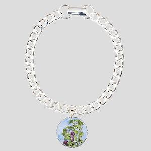 KEEPSAKE-WCC-GRAPES Charm Bracelet, One Charm