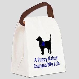 Puppy Raiser Canvas Lunch Bag