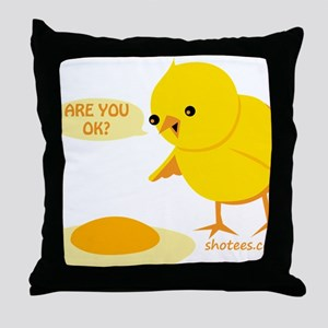 are you ok Throw Pillow