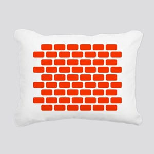 brick_wall Rectangular Canvas Pillow