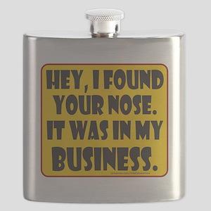 HeyIFoundYourNose Flask