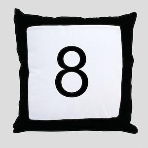 8ball Throw Pillow